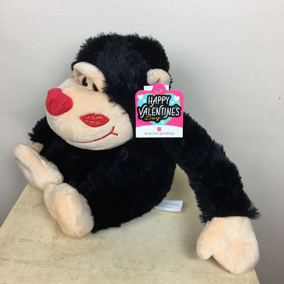 American Greetings Other Adorable Plush Monkey For